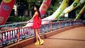 Dream in Colour on the Alkaff Bridge.