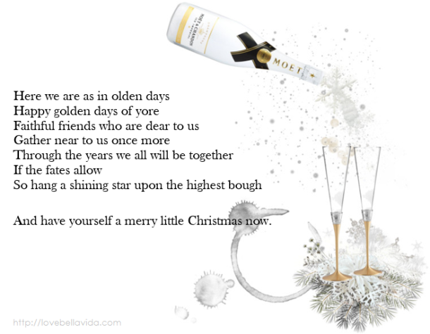 Merry Little Christmas Moet Chandon 5