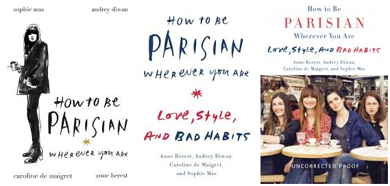 how to be parisian book covers
