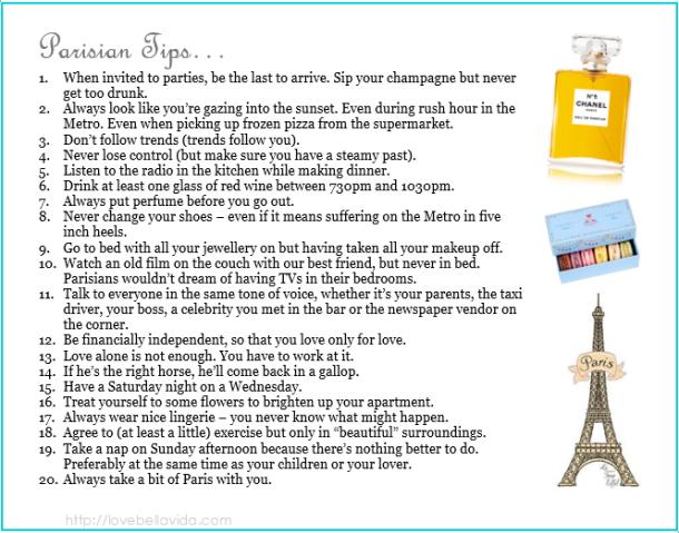 parisian tips