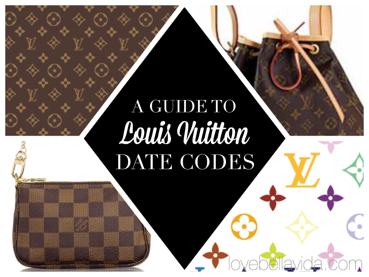 A Guide to Louis Vuitton Date Codes