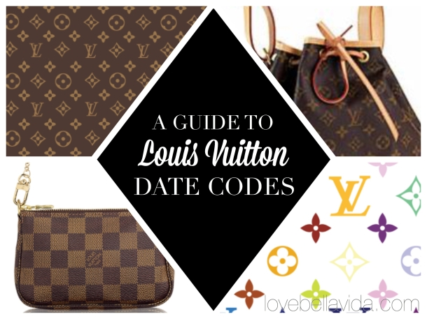A Guide to Louis Vuitton Date Codes  7fe75643cc7cf