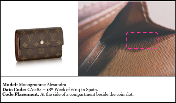 Date on to find a louis vuitton where code A Guide