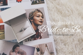 Thoughts of a Bride-to-Be