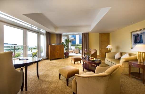 The Fullerton Suite interior.