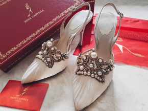 Cinderella Wedding Shoes: Rene Caovilla