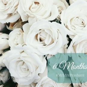 Wedding Countdown: Six Months to#MrMrsPrashant