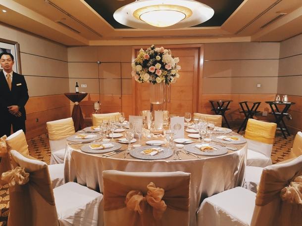 Wedding Reception Food Tasting At Fullerton Hotel Love Bella Vida