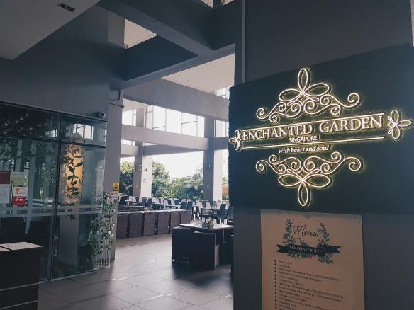 Enchanted Garden Restaurant At V Hotel Lavender Love Bella Vida