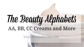 AA, BB, CC and the BeautyAlphabets