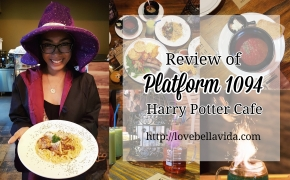 Platform 1094 Harry Potter Cafe
