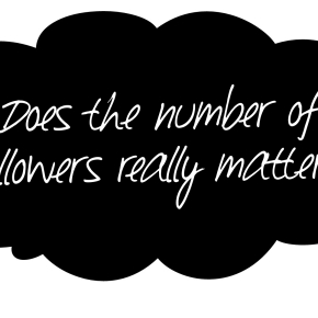 Does the Number of Followers Really Matter?