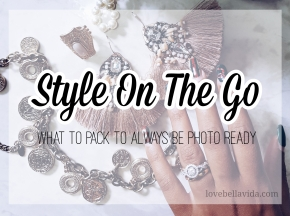 Style Tips On-The-Go