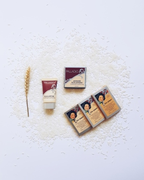 Palladio Rice Primer, Rice Pressed Powder & Rice Paper