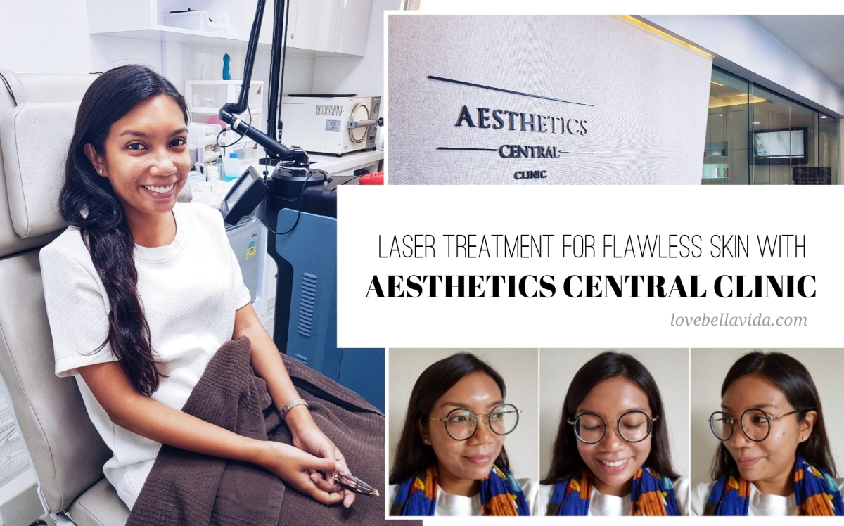 Laser Treatment for Flawless Skin with Aesthetics Central Clinic (Part I)